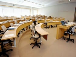 SEEC's classrooms are modern, comfortable places to learn and interact with peers.